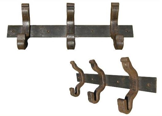 Rail Anchor1 Coat Hanger Hat Rack Wall Mounted Railroadware
