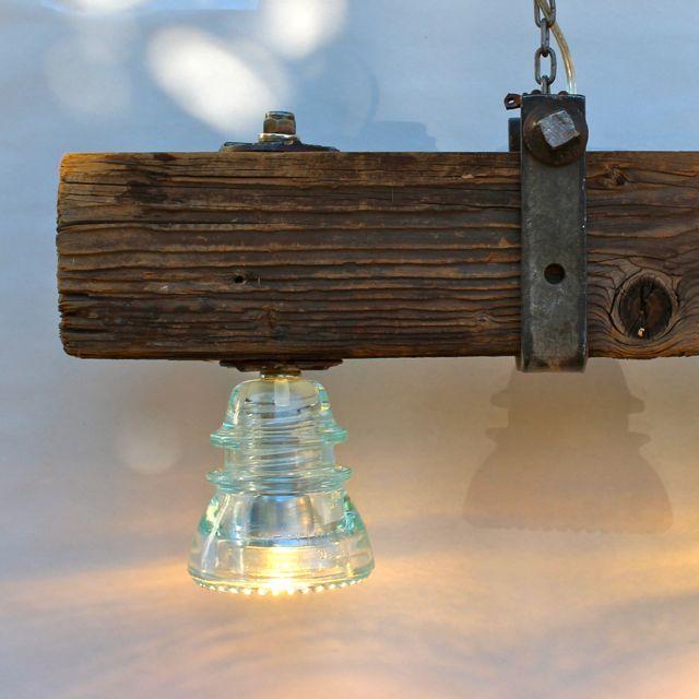 Insulator Light Crossarm Chandelier