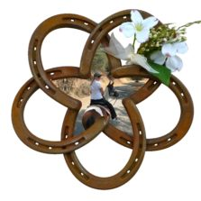 Horseshoe Star Floral & horse photo