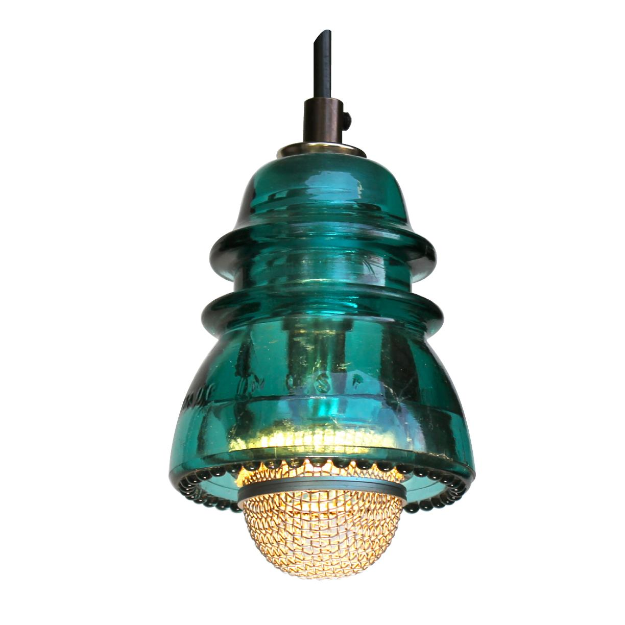 Insulator light pendant w microphone cover 120v6w 580 lumens insulator light pendant aloadofball Choice Image