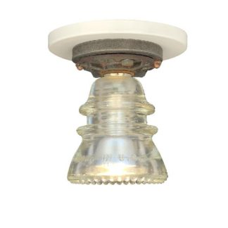 Insulator Light Ceiling Mounted CLEAR BEADED1