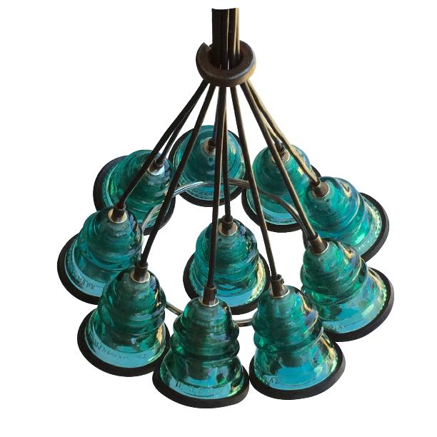 Teal Chandelier Beautiful Boyus Chandeliers With Teal