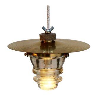 Insulator light cymbal pendant lantern