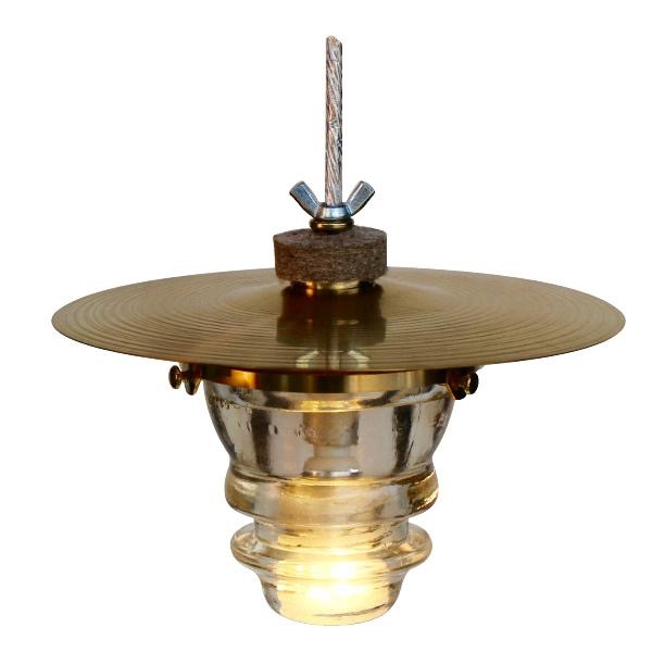 Insulator light cymbal pendant lantern