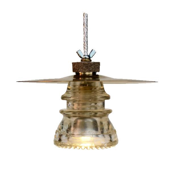 Insulator light cymbal pendant
