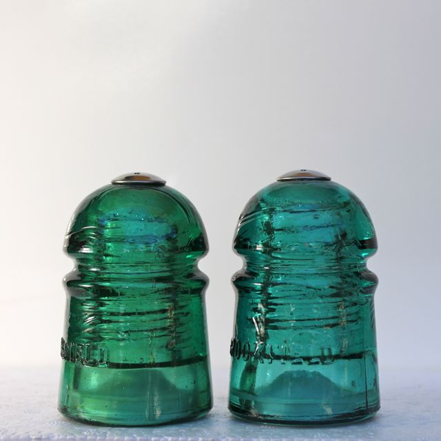 Insulator Salt & Pepper Shakers