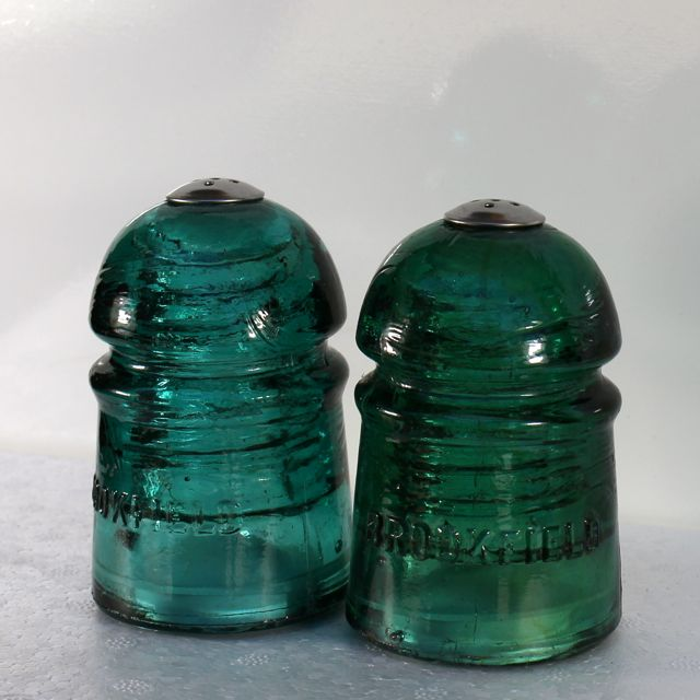 Insulator Salt & Pepper Shakers