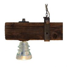 Insulator Light Crossarm Chandelier