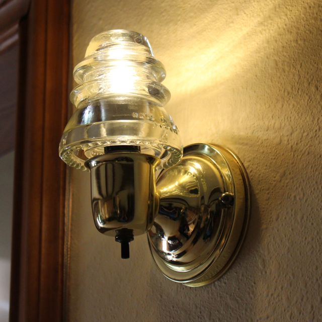 Insulator Light Wall Sconce