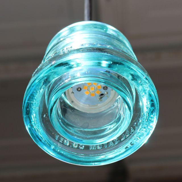 Insulator Light pendant Aqua