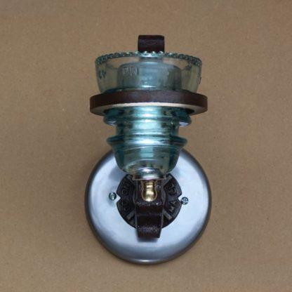 insulator light rail anchor sconce