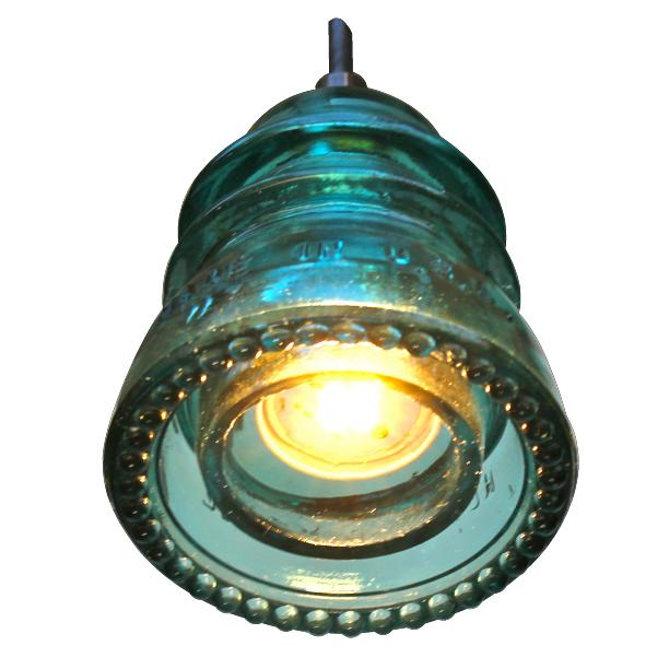 Insulator Light pendant Blue Green