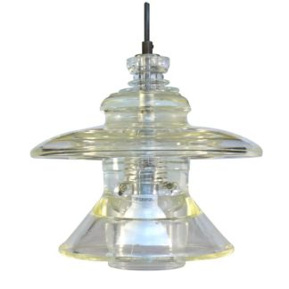 Insulator light pyrex pendant