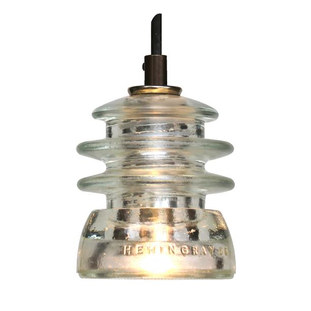 Insulator light pendant armstrong led 120v 6w 500 for Insulator pendant light