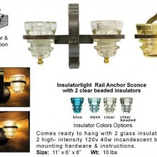Insulatorlight-Sconce