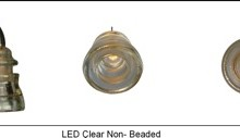LED Insulatorlight Pendant - Clear