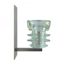 LED Insulatorlight Sconce Armstrong Clear 2