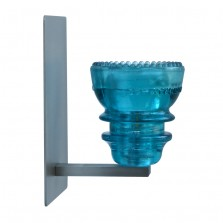 LED Insulatorlight Sconce BlueGreen 1