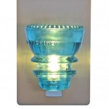 LED Insulatorlight Sconce BlueGreen 3