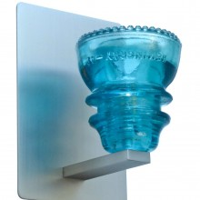LED Insulatorlight Sconce BlueGreen 5