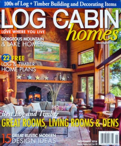 log cabin homes railroadware article
