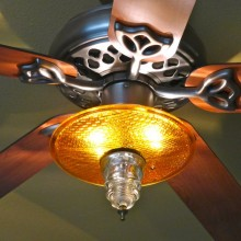 Trafficlight Lens ceiling fan kit 1
