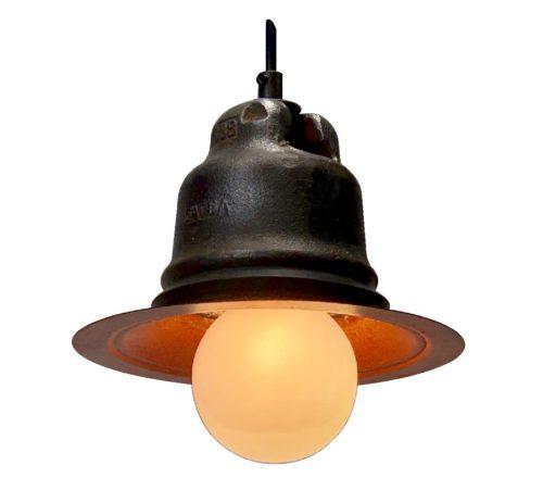 cast steel insulator light