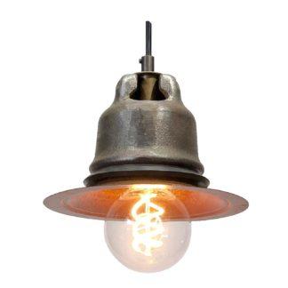 cast steel cap insulator pendant light