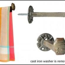 RRSpile Towel Holder