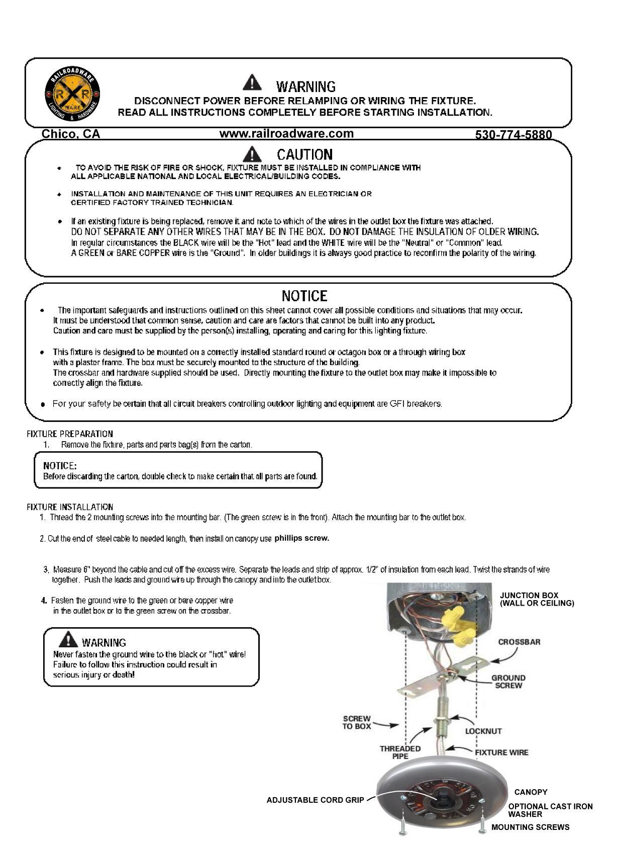 insulator light installation instructions