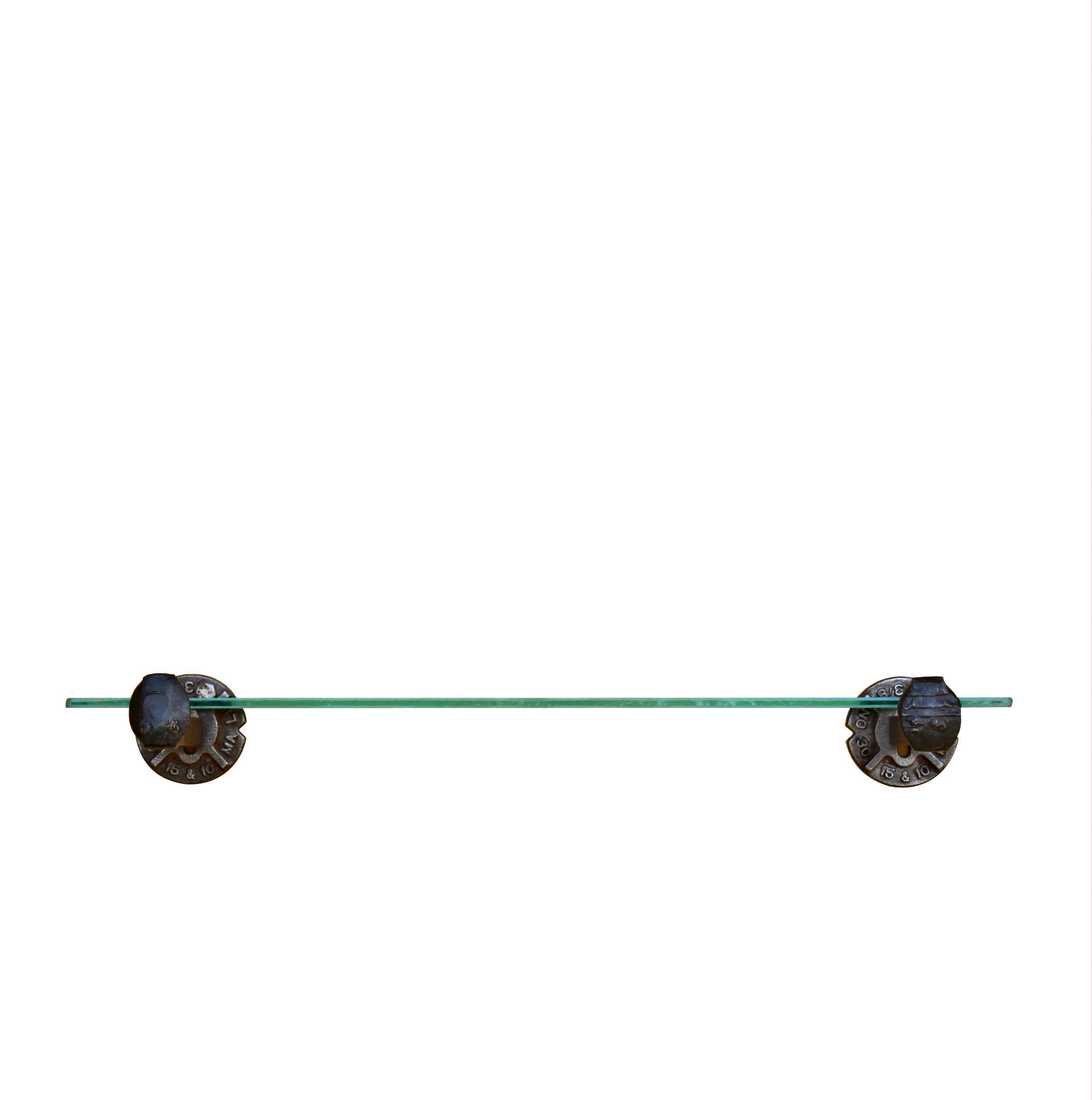 railroad spike shelf