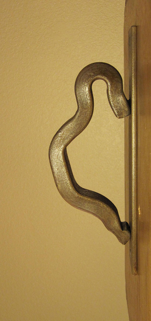 Rail Anchor1 Door ... & Rail Anchor1 Door Handle Escutcheon Plate - RailroadWare Pezcame.Com