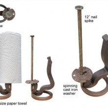 Rail-Anchor-Paper-Towel-Dispenser