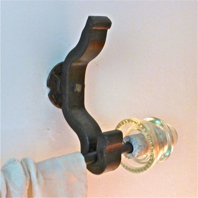 Rail Anchor 1 Curtain Bracket System Pair W Glass