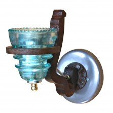 insulator light rail anchor sconce