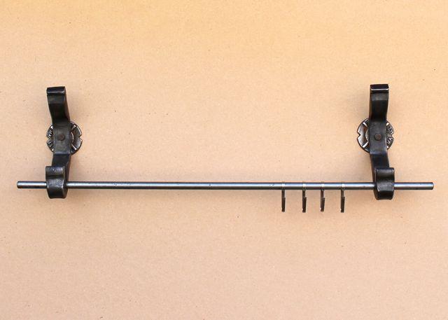 rail anchor pot and pan rack