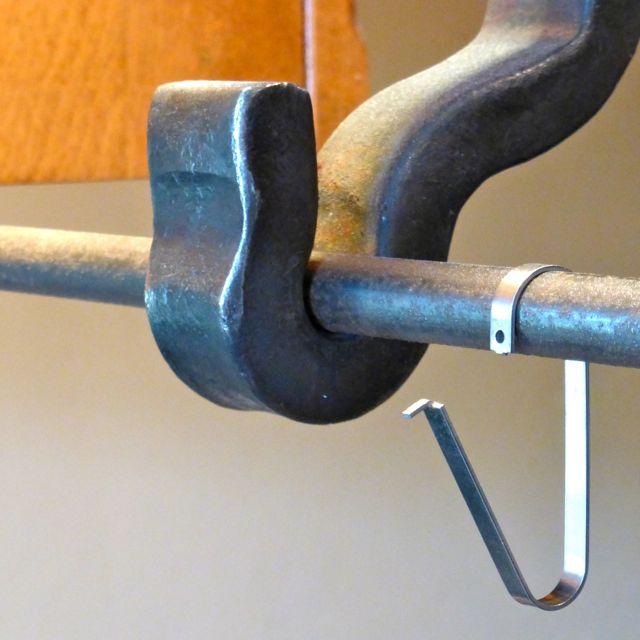 Rail Anchor I Pot Amp Pan Rod Utensil Rack System Wall