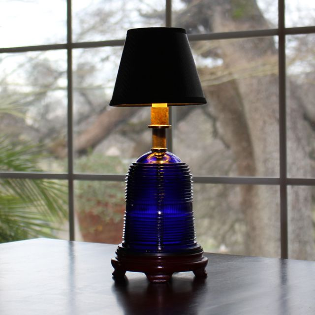 Runway Light Table Lamp Led 120v 6w 580 Lumens Cobalt