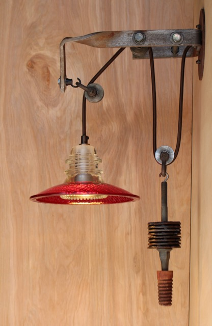 Telegraph Pole Bracket Pulley Light Sconce 8 Quot Trafficlight