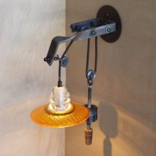 Telegraph Pole Crossarm Pulley Lamp 4 - 6