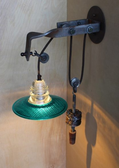 Telegraph Pole Crossarm Pulley Wall Mounted