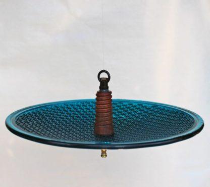 Insulator bird feeder wood cobb