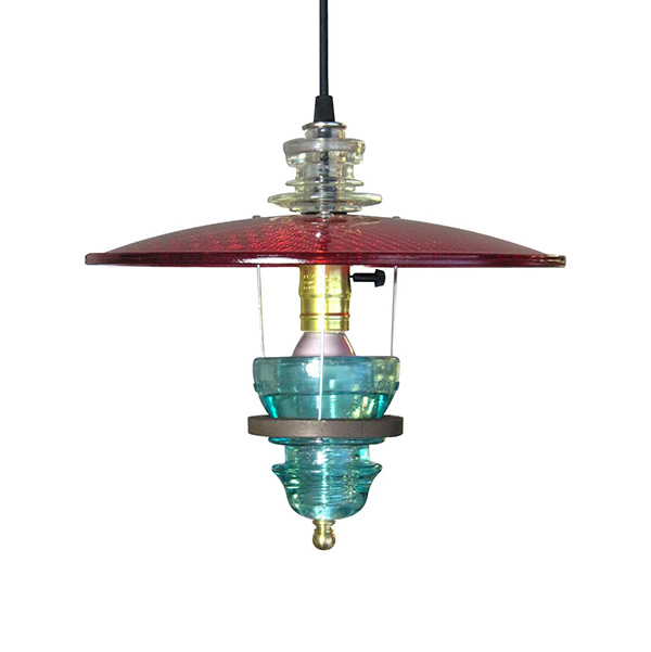 Insulatorlight traffic light pendant suspended insulator for Insulator pendant light
