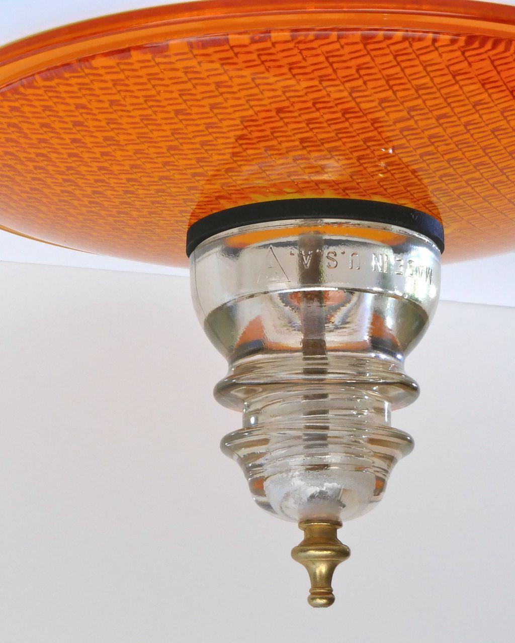 Trafficlight Insulator Ceiling Fan Kit Railroadware