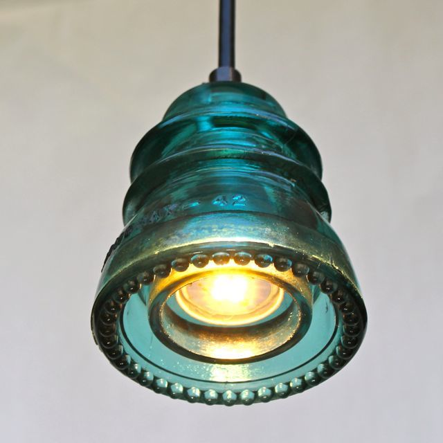 Insulator Light pendant Blue Green