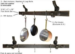 Pot Pan Hanger Clip Hook