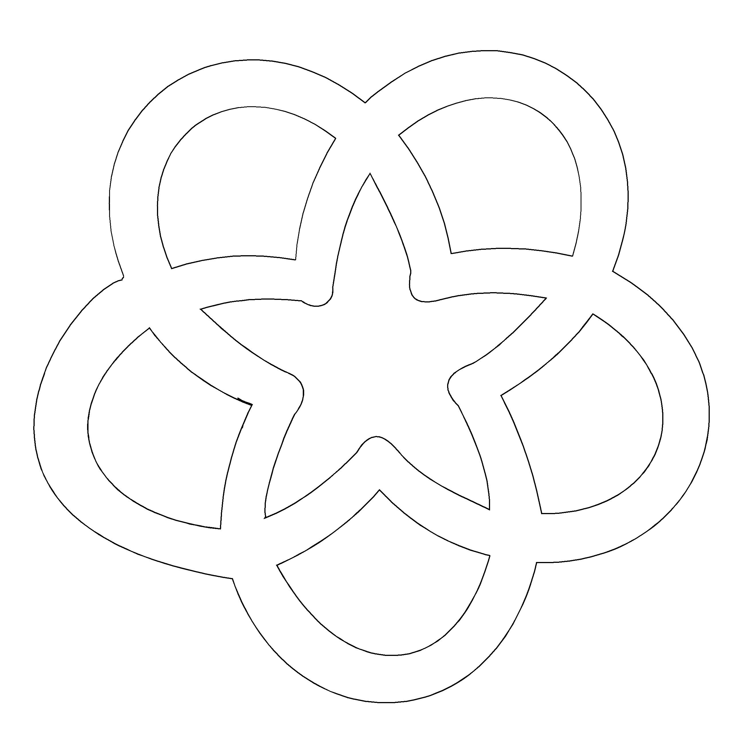 horseshoe star decorative wall mounted