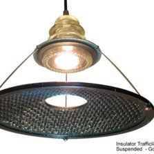 Insulatorlight W/ Suspended Traffic Light Lens